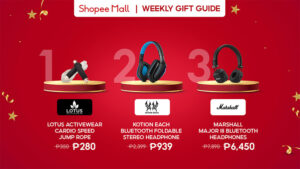 shopee philippines Gift Guide christmas