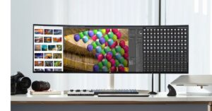 Take Your Productivity to New Heights With LG's 49-inch UltraWide™ Monitor
