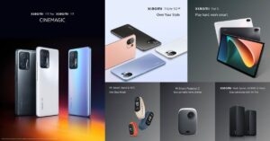 Reimagining the Future of Work and Play: Xiaomi Unveils Xiaomi Pad 5 and New AIoT Products at Global Launch Event