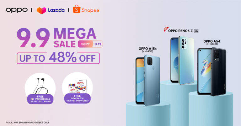 """OPPO products you can """"add-to-cart"""" on 9.9 Super Brand Day Sale, save up to 48% and more"""