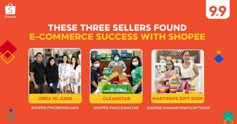 Three Shopee Sellers Gear Up for 9.9 Super Shopping Day to Scale their Business
