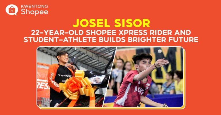 This 22-Year-Old Shopee Xpress Rider and Student-Athlete Builds a Brighter Future Through Diskarte and Discipline