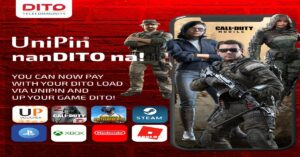 DITO Enables a Seamless Gaming Experience Through Partnership with UniPin