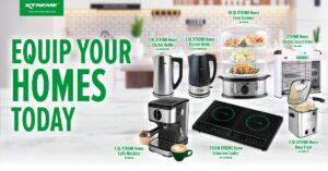 Equip your homes with XTREME Appliances' newest products