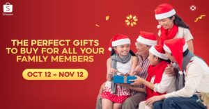 Buy These Perfect Gifts for all Your Family Members This Christmas only in Shopee